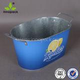 10 Qt Metal Ice Balde para refrigeração Wine Frozen Beer Bucket for Wholesale