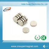 De sterke (5*4mm) Magneet van de Schijf van het Neodymium van de Motor