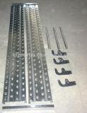 Bouw en Decoratie 228*60*1.0-2.2mm de Plank van het Staal van de Steiger