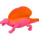 Fantastische Montage-buntes Plastikdinosaurier-Puzzlespiel-Spielzeug