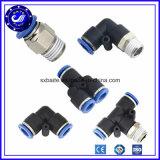China el tubo de aire rápido neumático conector de accesorios de metal