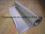 Feuillet en aluminium pour ventilation et conduits flexibles