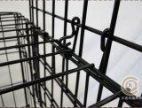 Cage de chien pliable avec bac d'ABS