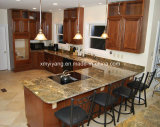Kitchen Bathroom (YQC-GC1005)를 위한 제국 Gold Granite Countertop