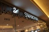 분명히한 마스크 Lit Dimetntional 3D 독점적인 상점 Signage LED는 표시를 써 넣는다