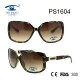 大きい正方形フレームの女性UV400のサングラス(PS1604)