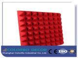 панель волокна полиэфира 3D акустическая для комнаты трактира