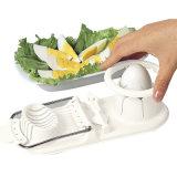 Pièces de fantaisie multifonction le fractionnement d'oeufs en plastique de fruits en acier inoxydable Slicer gadgets de cuisine