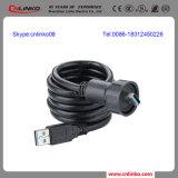 Montagem/fêmea do painel de conetor do USB ao tipo do USB Connector/USB da fêmea um conetor