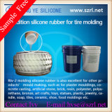 1: 1 Misturando Ration Silicone Rubber for Tire Mold