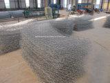 Cestini galvanizzati tuffati caldi di Gabion nella maglia del filo di acciaio