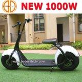 리튬 건전지를 가진 예시된 1000W 전기 발동기 달린 자전거 스쿠터 Harley