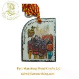 記念品を受け入れるPaypalの首のリボンの印刷のバッジメダルをカスタマイズしなさい