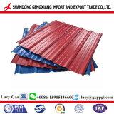 Il piatto d'acciaio del ferro Tile/Gl/galvalume galvanizzati ha ondulato lo strato usato sullo strato del tetto