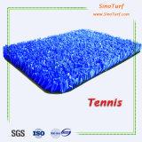 Hohe Elastizität-bequemes natürliches schauendes Tennis-Gerichts-künstliches Gras, synthetischer Rasen, künstlicher Rasen