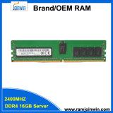 DDR4 2rx8 PC4-2400t 1.2V 16GB 서버 램 기억 장치