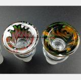 Het Mannetje van de Waterpijp van het gebrandschilderd glas schrobt 14.5mm, 18.8mm de Montage van de Pijp