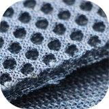 A1645 100% полиэстер искусственный шелк сэндвич сетчатая поверхность ткани используются спортивную обувь