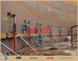 Matériel de construction de réservoir de système de levage hydraulique/système longitudinaux de levage