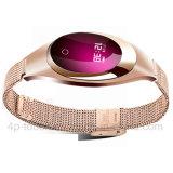 Onlangs Elegante Slimme Armband Bluetooth met de Monitor van het Tarief van het Hart (Z18)
