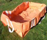 Настроить РР тканого пропустить их в мусорных корзинах сумку для цемента, песок, минерального порошка, строительного мусора
