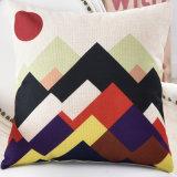 A roupa de algodão impresso Digital personalizada almofada decorativa cobrir atirar caso de almofadas