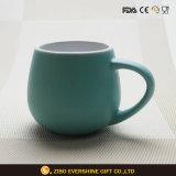 tazza di ceramica di promozione su ordinazione della bevanda a base di latte 330ml