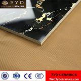 Il nero di Foshan e mattonelle di marmo lustrate mattonelle dell'oro
