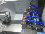 쟁반에 있는 미사일구조물 로더를 가진 정밀도 CNC 선반