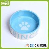 Form-Auslegung-Hundeabdruck-keramische Haustier-Schüssel