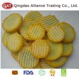 Qualidade superior de fatias de abobrinha amarela congelados