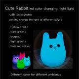 Silikon-weiche Farben-ändernde Nachtlichter mit Geschenk-Kasten