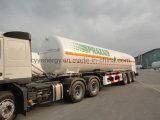 半中国の2015年の液化天然ガスの液体酸素のタンク車のトレーラー
