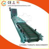Transportador de correa resistente máquina ampliamente utilizado en la línea de pellets de madera