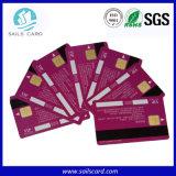 PVC vierge / blanc imprimable bande magnétique carte