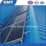 알루미늄 가로장 태양 모듈 시스템을%s 가진 솔기 지붕