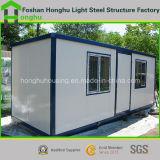 中国の生きている容器の家のためのプレハブのPortaの小屋の家