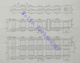 Chaînes d'entraînement de l'huile non standard, les chaînes de transmission, avec simple ou double rangée, personnalisé