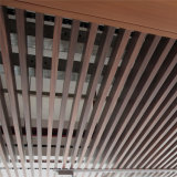 Доска крытого декоративного потолка панели WPC деревянная пластичная составная