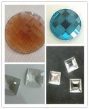 De nieuwe Diamanten Strass van de Stenen van de Parels van het Glas van China van 2016 vlak Achter