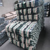 De groene Met een laag bedekte Post van T met Spade