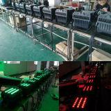 20X12W DMX LED PAR etapa del concierto de iluminación al aire libre
