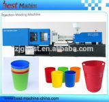 Horizontal personalizado de inyección de alta potencia que hace la máquina para vasos de plástico