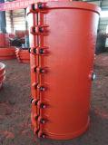 Bride H500X1000, couplage de réparation de pipe, chemise de réparation de pipe, bride de réparation de pipe de pipe de réparation pour la pipe de fer de moulage et la pipe malléable de fer, réparation rapide disjointe de pipe