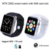 Mtk2505 SIMのカードスロット(GM18S)が付いているスマートな腕時計の電話