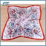 90*90cm Vintage senhoras elegantes Impressão Padrão lenços toalhas de praia