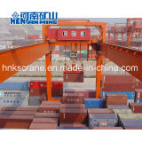 Rmg 50 Tonne 40 Tonnen-auf Schienen doppelter Träger-Behälter-Portalkran