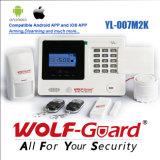 Sistema de alarme sem fio da segurança da G/M do detetor de movimento de PIR