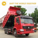 HOWO 덤프 트럭 12 타이어 371HP 40tons