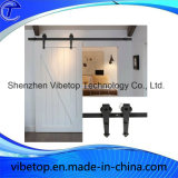 Steel Security Sliding Wood Barn Door Hardware (BDH-04)